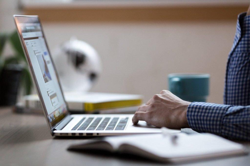 laptop, code, programming